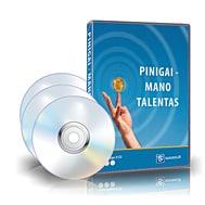 Pinigai talentas - 3D M